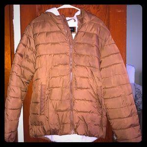 Brown Bubble Jacket